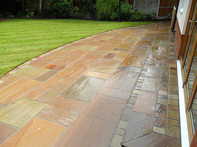 Indian stone patios Liverpool