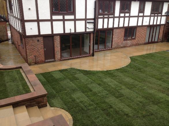Garden landscaping liverpool